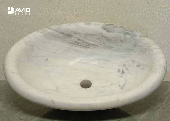 Natural Stone Marble Wash Basin Highly Polished High Compressive Strength